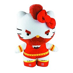 TOYNAMI - Street Fighter x Sanrio Hello Kitty Zangief Plush 10""