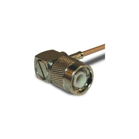 Amphenol RF RF Connector  TNC Right Angle Crimp Plug
