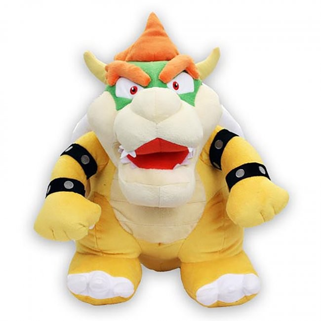 Little Buddy Toys - Super Mario Bowser Plush 16""