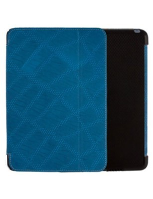 Xentris Wireless Fitted Leather Case for Apple iPad Mini - Blue Reptile