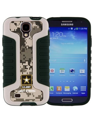 Xentris U.S. Army Industrial Grip Shell Case for Samsung Galaxy S4 (Impact)