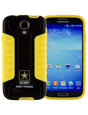 Xentris U.S. Army Industrial Grip Shell Case for Samsung Galaxy S4 (Army Strong)