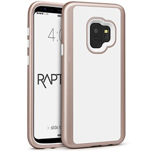 Shout! Rapture - Samsung Galaxy S8  Case Rose Gold/White Matte Finish
