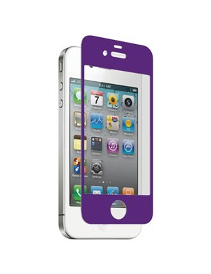 Nitro Glass Screen Protector for Apple iPhone 4/4S - Purple