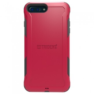 Trident Aegis Case Compatible with Apple iPhone 7 Plus - Red