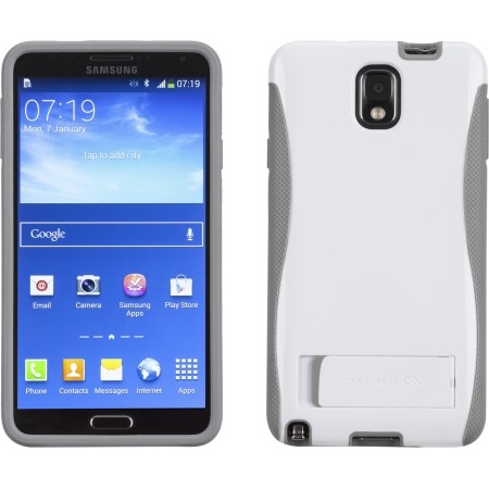 differently 91c0e 599ac Case-Mate Pop! Case for Samsung Galaxy Note 3 (White/Grey)