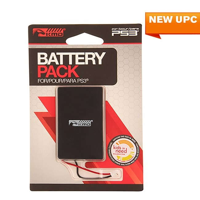 KMD - Rechargeable Internal Controller Pack Battery for PS3
