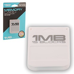KMD - 1MB 15 Blocks Memory Card for PS