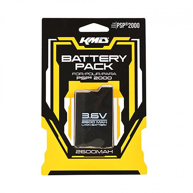 KMD - Rechargeable Pack Battery for PSP 2000