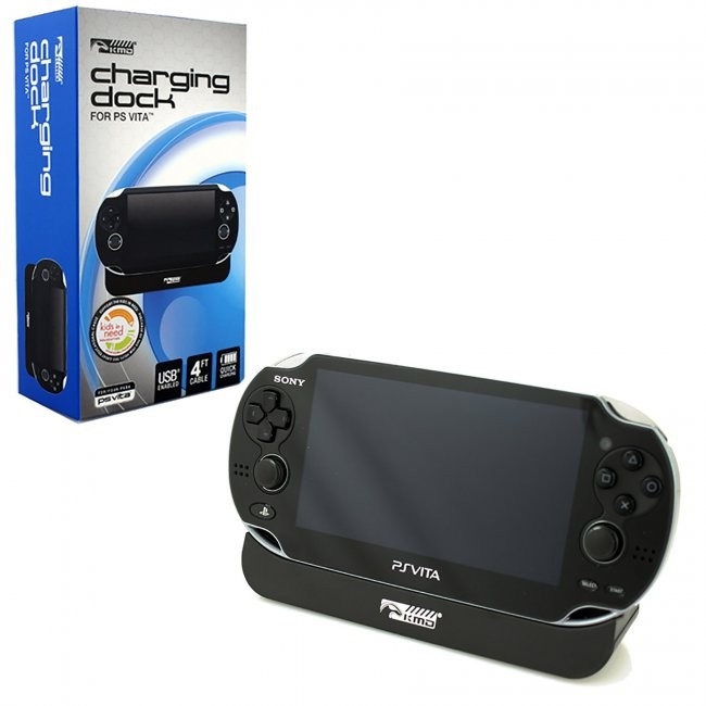 KMD - Docking Charge Station  Charger for PSVita