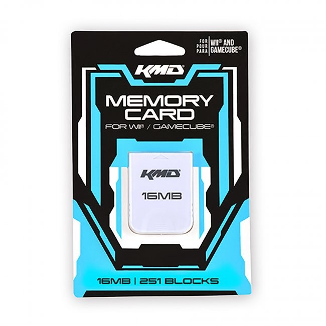 KMD - 16MB 251 Blocks Memory Card for Gamecube/Wii