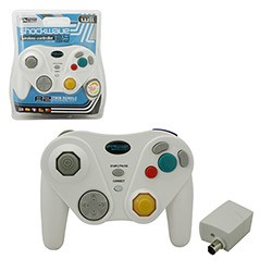 KMD - Shock-Wave 2.4GHZ Wireless Controller for Wii/GameCube