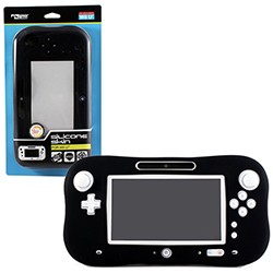 KMD - Silicone Protective Skin Case for Wii U - Black