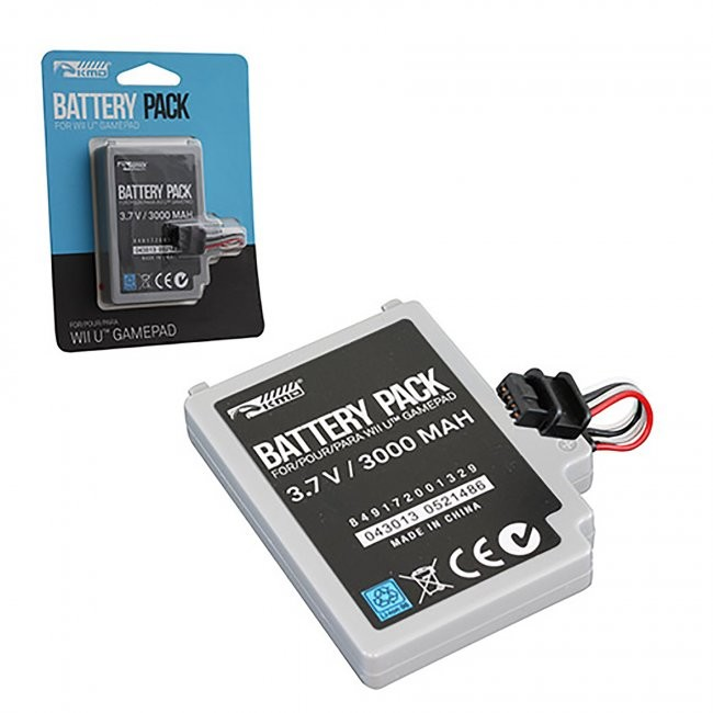 KMD - Rechargeable Internal Controller Battery Pack 3000MaH for Wii U