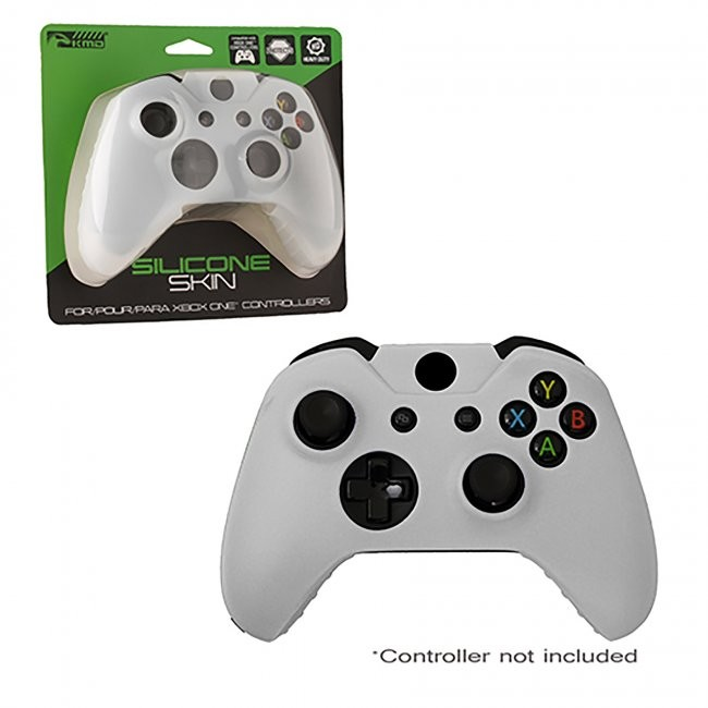 KMD - Controller Silicone Grip Case for Xbox One - White