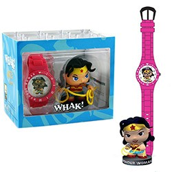 DC Universe - Little Mates Wonder Woman Whak! Watch and Figurine