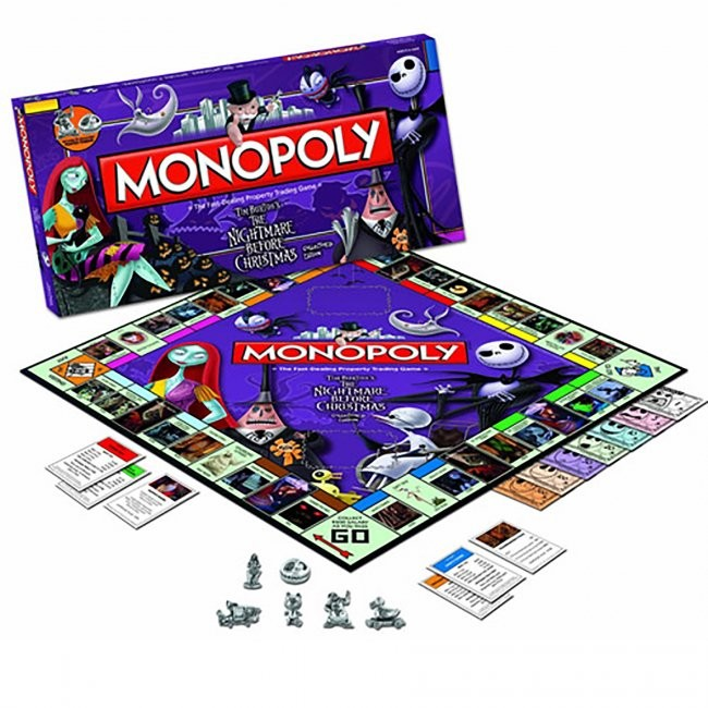 Board Game - The Nightmare Before Christmas Monopoly