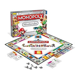 Board Game - Monopoly Nintendo Board Game