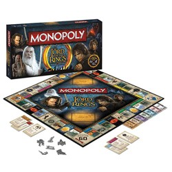 Board Game - Board Game The Lord of the Rings Monopoly