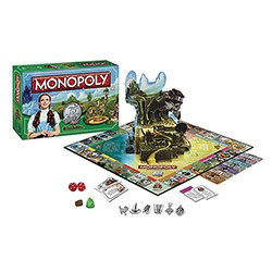 Board Game - Board Game The Wizard of Oz Monopoly
