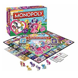 Board Game - My Little Pony Monopoly