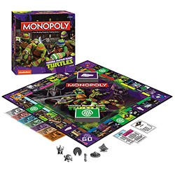 Board Game - Teenage Mutant Ninja Turtles Nickelodeon Edition Monopoly