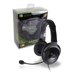 Madcatz - Wired AMPX Amplified Gaming Headset for MicroSoft Xbox 360
