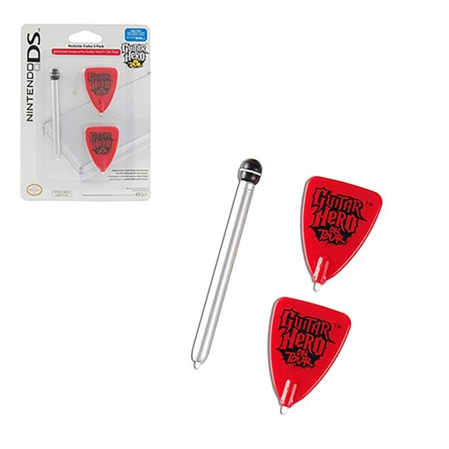 BDA / Power A - Guitar Hero On Tour Stylus Pack for DS
