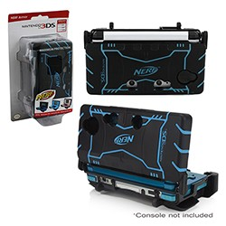 PDP - Nerf Triple Armor Case for DS/DS Lite/3DS - Blue