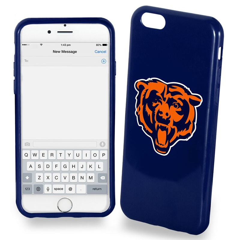 NFL Soft Case for iPhone6. Chicago Bears