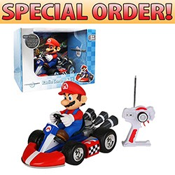 Nintendo -  Large Radio Control Kart for Mario