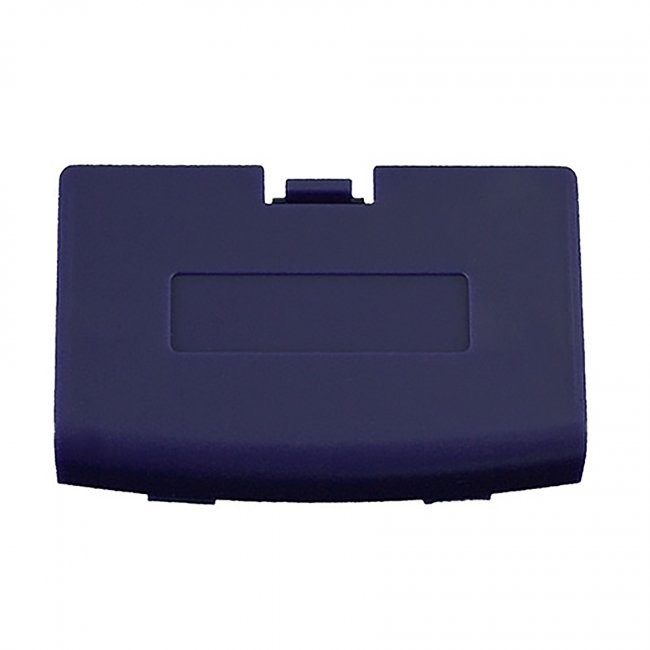 Third Party - Repair Part Battery Door Cover for GBA - Purple Indigo