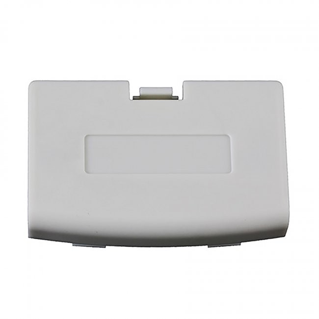 Third Party - Repair Part Battery Door Cover for GBA - White Arctic