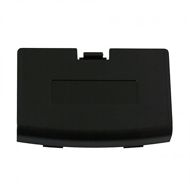 Third Party - Repair Part Battery Door Cover for GBA - Black