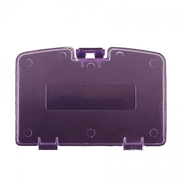 Third Party - Repair Part Battery Door Cover for GBC - Clear Atomic Purple