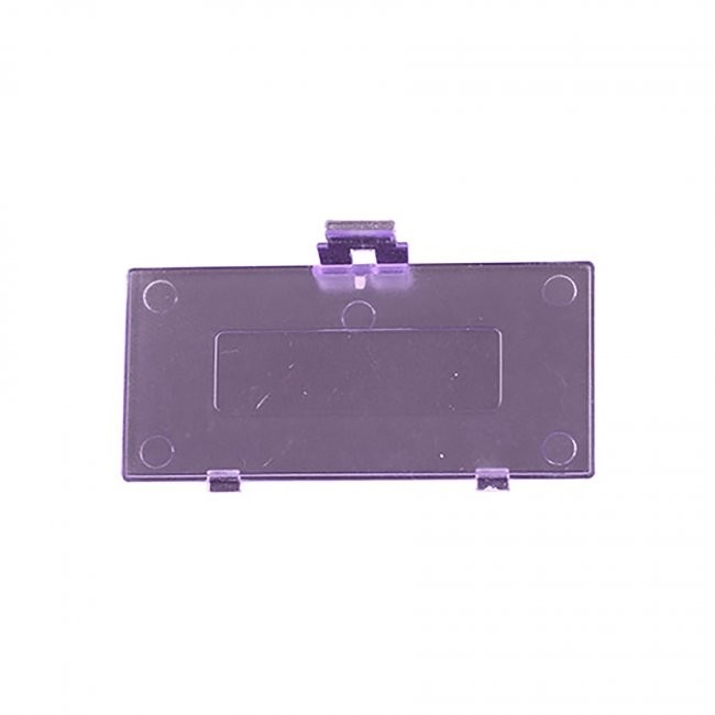 TTX Tech - Repair Part Pocket Battery Doors for Game Boy - Atomic Purple