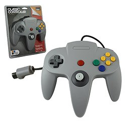 TTX Tech - Controller OG for N64 - Grey