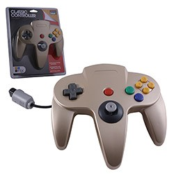 TTX Tech - Controller OG for N64 - Gold