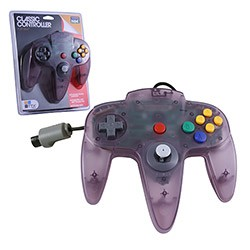 TTX Tech - Controller OG for N64 - Clear Purple