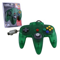 TTX Tech - Controller OG for N64 - Clear Green