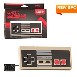TTX Tech - 8-Bit Wired Classic Color Controller for NES