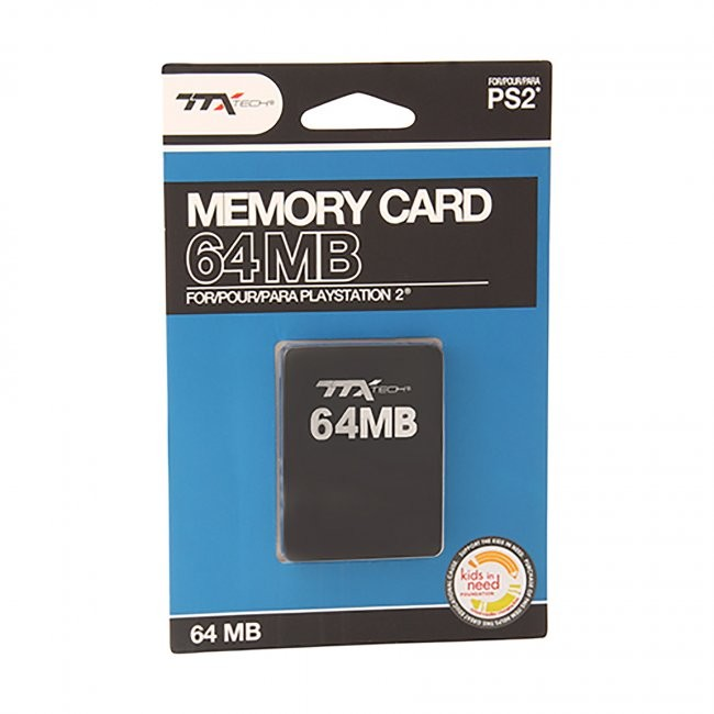 TTX Tech - 64MB Memory Card for PS2