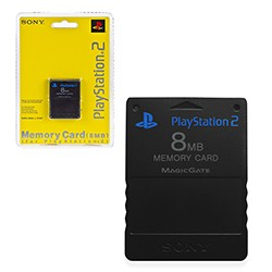 Sony - 8MB Memory Card for PS2