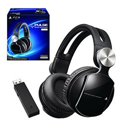 Sony - Pulse Wireless Stereo Headset Elite for PS3