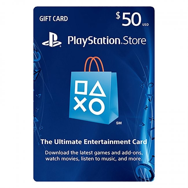 Sony - $50 Value PSN Live Subscription Card for PS3