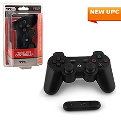 TTX Tech - Wireless  2.4 GHZ Controller for PS3 - Black