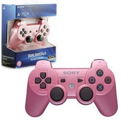 Sony - New  DualShock 3 Wireless Controller for PS3 - Pink