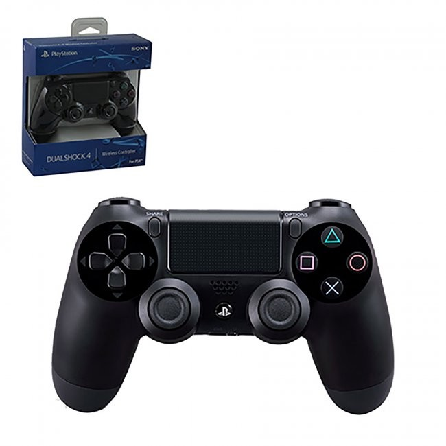 Sony - New  DualShock 4 Wireless Controller for PS4 - Black
