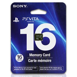 Sony - Hardware 16GB Memory Card for PSVita