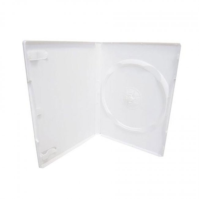 Third Party - Universal Single Media Package DVD Case - White